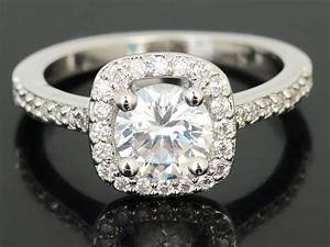 elegant 18k white gold plated crystal wedding engagement With jewelry wedding rings