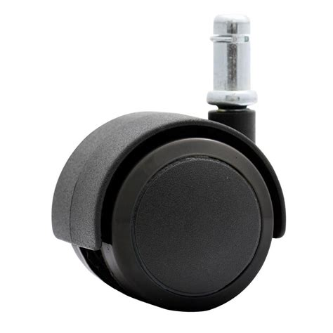 katu 2 in rubber pu office chair casters safe for