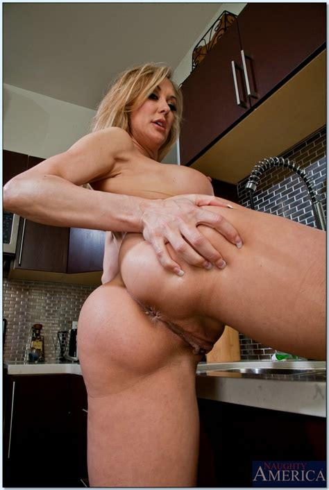 Brandi Love Bent Over Milf Mature Sex