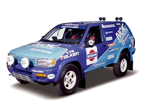 nissan dakar nissan terrano rally car 1996 r50 rally build for the