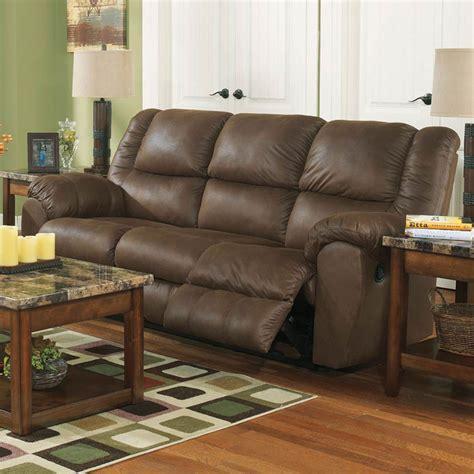 ashley reclining sofa reviews ashley quarterback reclining sofa sofas couches home