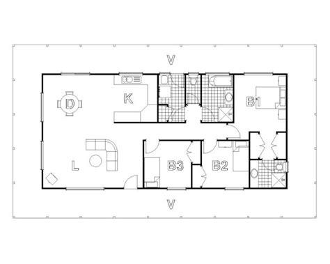 bedroom house plans  open floor plan australia zion star