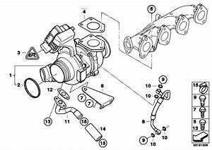 Original Parts For E91 320d N47 Touring    Engine   Turbo