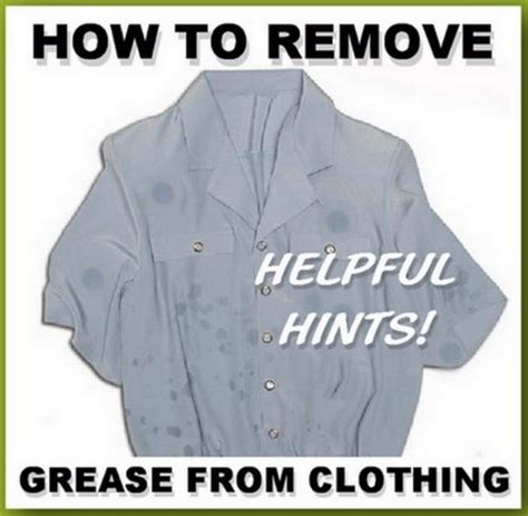 how to remove stains from clothes how to remove grease stains from clothes