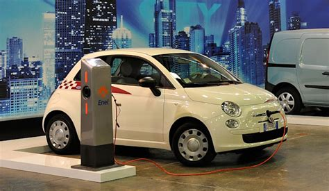 Electric Fiat by Dull Display Of Electric Cars At Italy S Bologna Motor