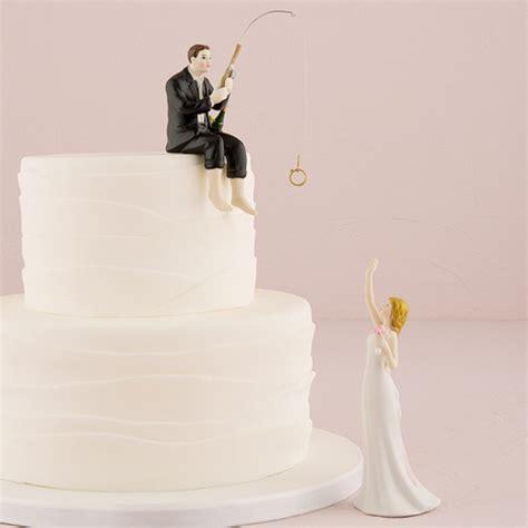 hooked  love wedding cake topper