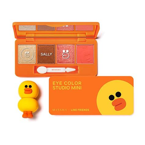 Jual Missha X Line missha line friends eye color studio mini sally orange