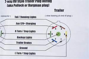 Trailer Wiring Diagram 7 Pin Plug Way At Towing