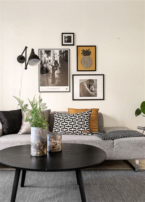 canape gris et blanc les 25 meilleures idées de la catégorie petit salon sur