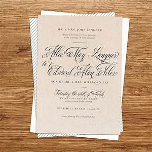 rustic wedding invitations ipunya With wedding invitations with a picture