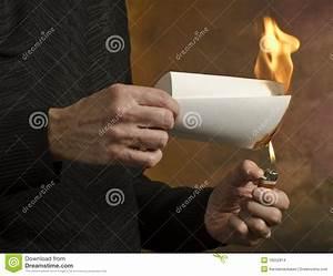 burning document stock images image 18252814 With burning documents