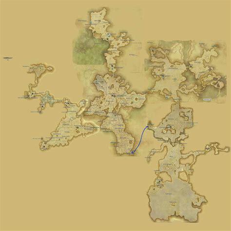 Thanalan  Maps  Ffxiv A Realm Reborn Info (ff14