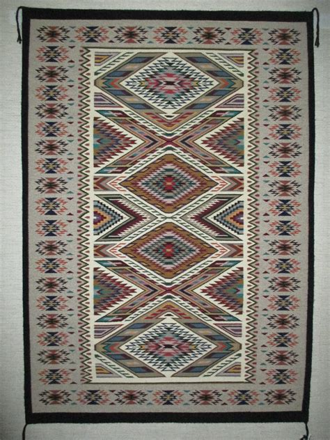 Navajo Indian Rugs by Larger Teec Nos Pos Rug By Bessie Littleben Navajo Rug