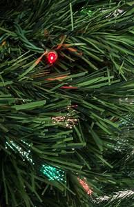 200 Multi Color Garland Lights 6 39 Fiber Optic Green Christmas Tree W 200 Multi Color