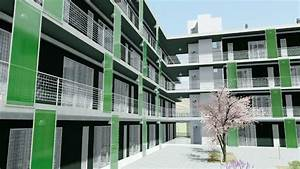 Social Housing Famous Projects With Dwg Drawings And 3d
