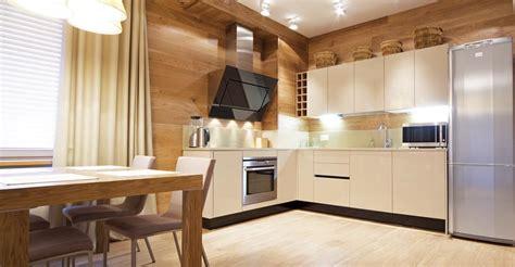 parquet dans une cuisine parquet flottant cuisine parquet style manggis