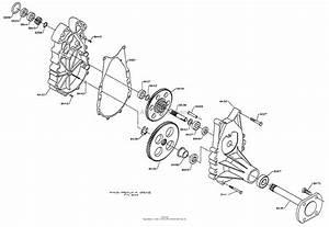 Dixon Ztr 5020  1998  Parts Diagram For Gearbox  5000 Series
