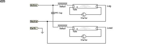 Fluorescent Tube Basics Electronic Circuit