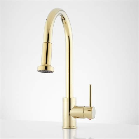 contemporary kitchen faucet 156 bainbridge single pull kitchen faucet with