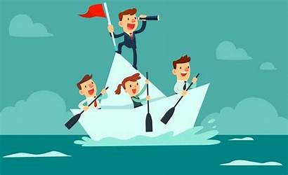 Team Goals Liderazgo Boat Pemimpin Lead Examples