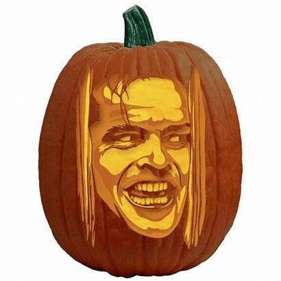 Pumpkin Jack Nicholson Carving Patterns Stencil Johnny