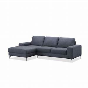 canape d39angle cote gauche design 3 places avec meridienne With tapis design avec canape chesterfield meridienne