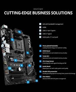 Msi B350 Pc Mate Am4 Amd B350 Atx Motherboard