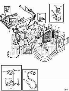 Volvo Penta Exploded View    Schematic Electrical System D3