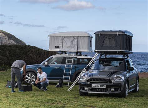 sleep   car    mini countryman roof tent