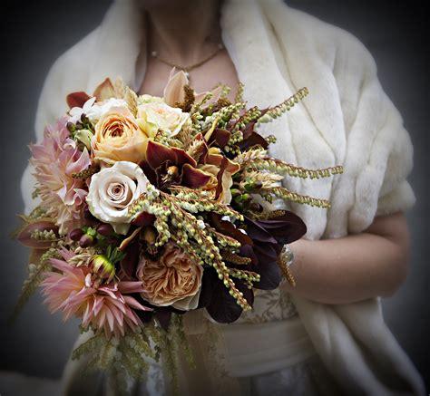 Fall Wedding Bouquet Petalena Creative Designs For