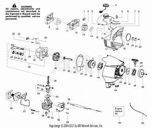 Poulan Ppb300 Gas Trimmer Parts Diagram For Engine Assembly