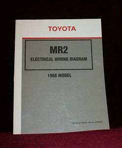 Buy Toyota Mr2 1988 Electrical Wiring Diagram Publication