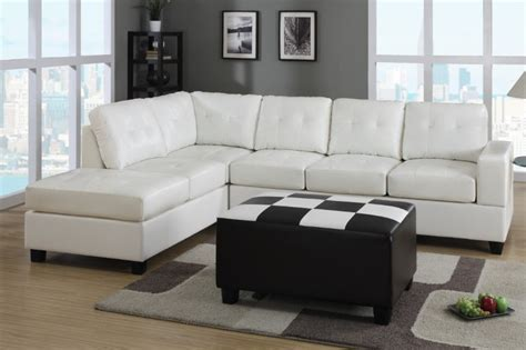 white leather sofa and chair white color modern leather sectional sleeper sofa bed with