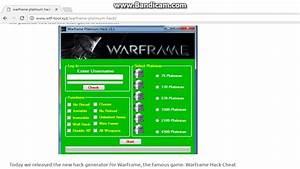 Warframe Platinum Codes 2018 Xbox One