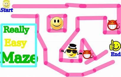 Maze Easy Clipart Super Word Clip Clker