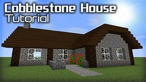 How to Make a Good Cobblestone House in Minecraft - YouTube