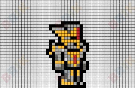 pixel hallowed armour terraria brik