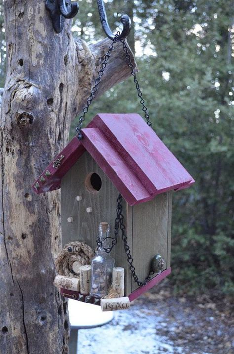 designs creatifs de cabane  oiseaux
