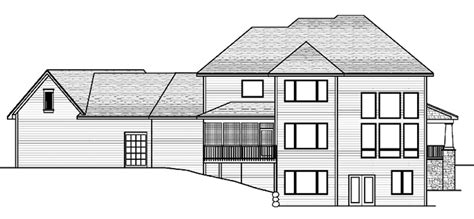 Classical Style House Plan - 3 Beds 2.5 Baths 3204 Sq/Ft
