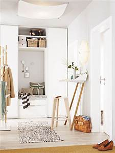 Garderobe Für Kleinen Flur : einrichtungsideen einen kleinen flur gestalten ~ Sanjose-hotels-ca.com Haus und Dekorationen