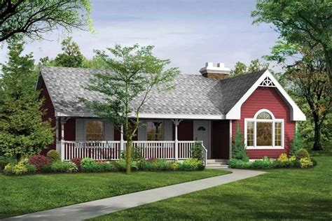 Country Style House Plan 3 Beds 2 Baths 1475 Sq/Ft Plan