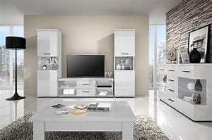 colonne vitree design laquee blanche alliance vitrine With meuble salle À manger avec armoire salle a manger