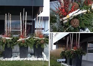 Decoration Noel Exterieur En Pot Dcoration De Nol