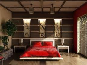 Asian Bedroom by Japanese Style Bedroom