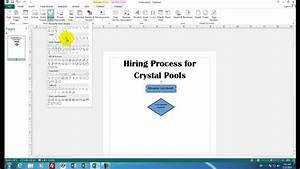 Microsoft Publisher 04 How To Create A Flowchart With