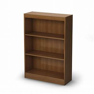 South Shore Axess 3-Shelf Bookcase by OJ Commerce 7250766c