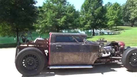 HD VIDEO 1983 DODGE RAM 50 RAT ROD SHOW CAR CUSTOM FOR ...