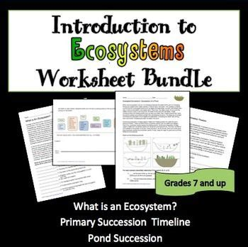 128 best ecology lessons for middle and high school images on pinterest