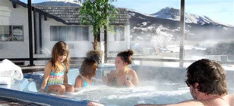 steam room  hot tub   canadian rockies jasper