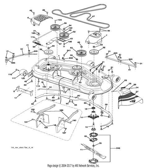 Deck Part Diagram by Poulan Pp24ka54 96042019300 2016 05 Parts Diagram For